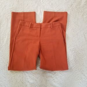 The Limited burnt orange slacks